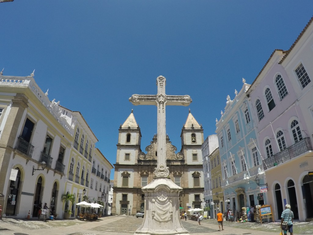 Cross in Historic District