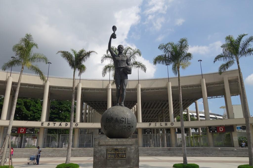 Maracana Stadium (where the opening ceremonies will be held)