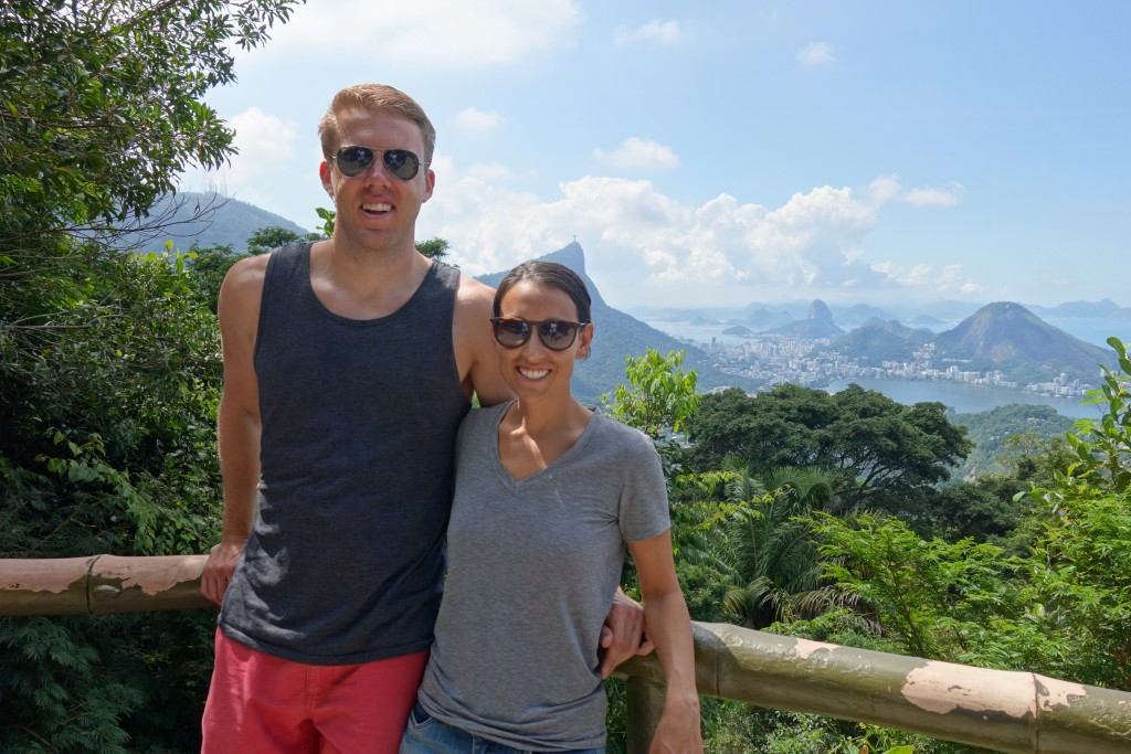 Overlooking Rio from Tijuca National Park