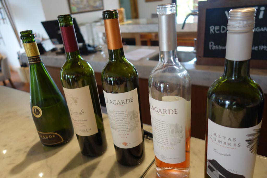 Tasting at Bodega Lagarde