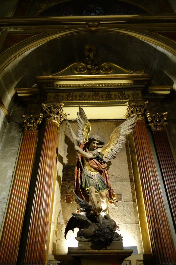 Art inside of Catedral Metropolitana
