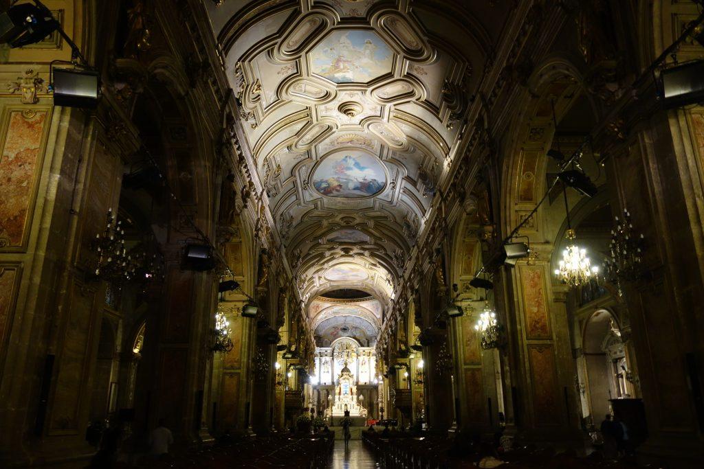 Inside of Catedral Metropolitana