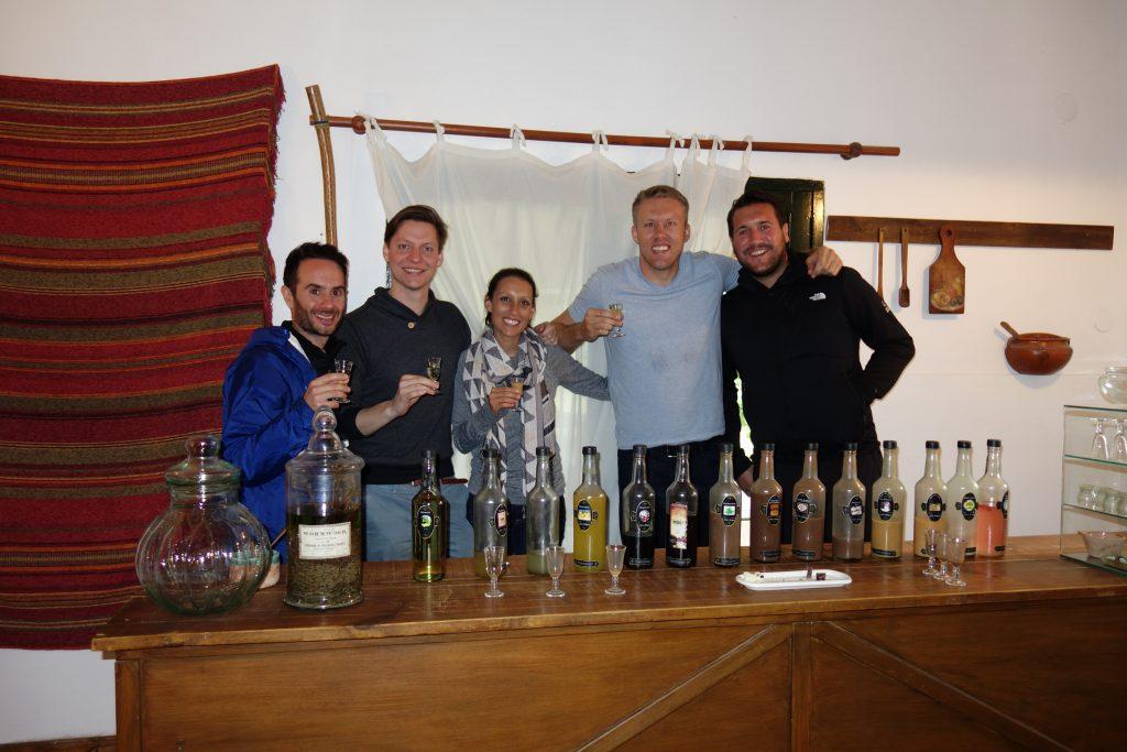 Sweets and liqueor tasting at A la Antigua