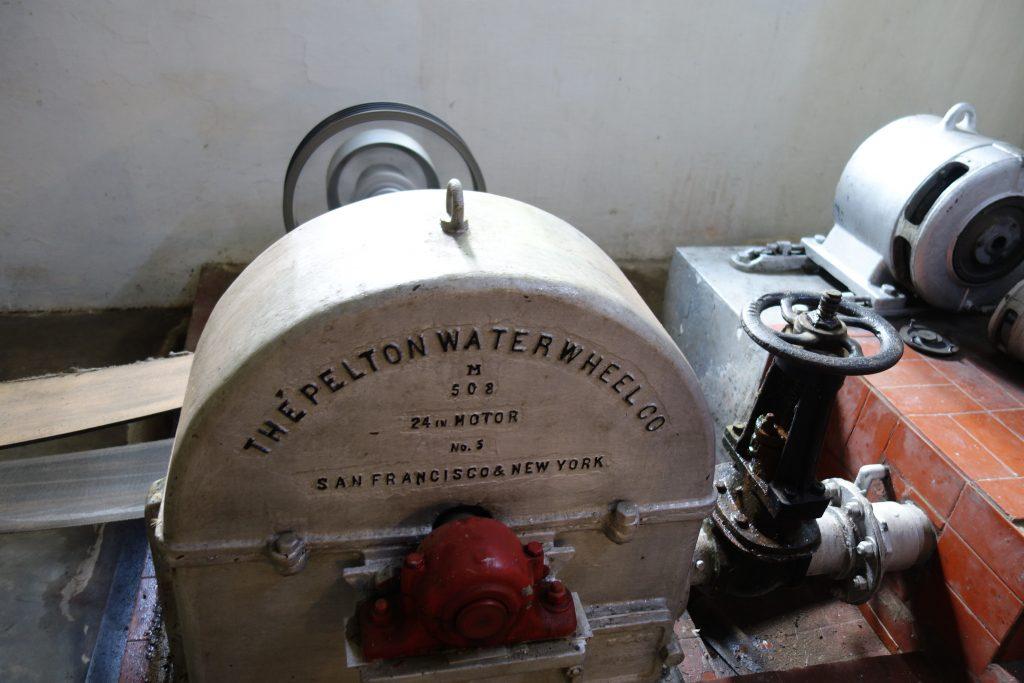 Original hydro-electric power equipment