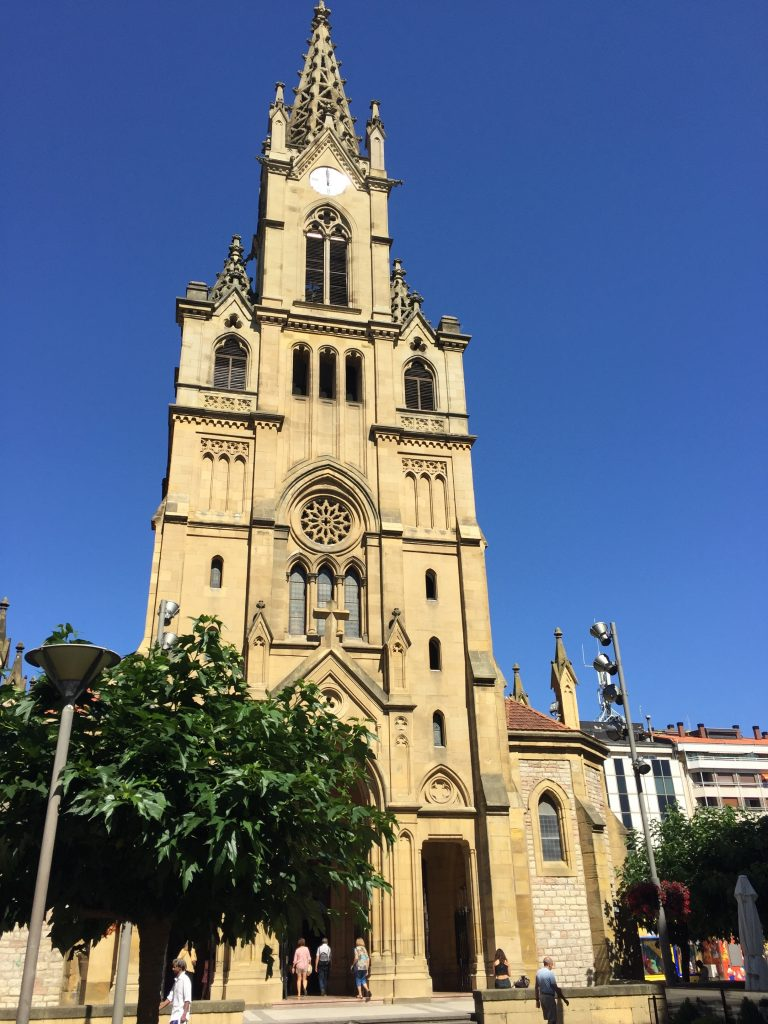 One of their churches in the main square